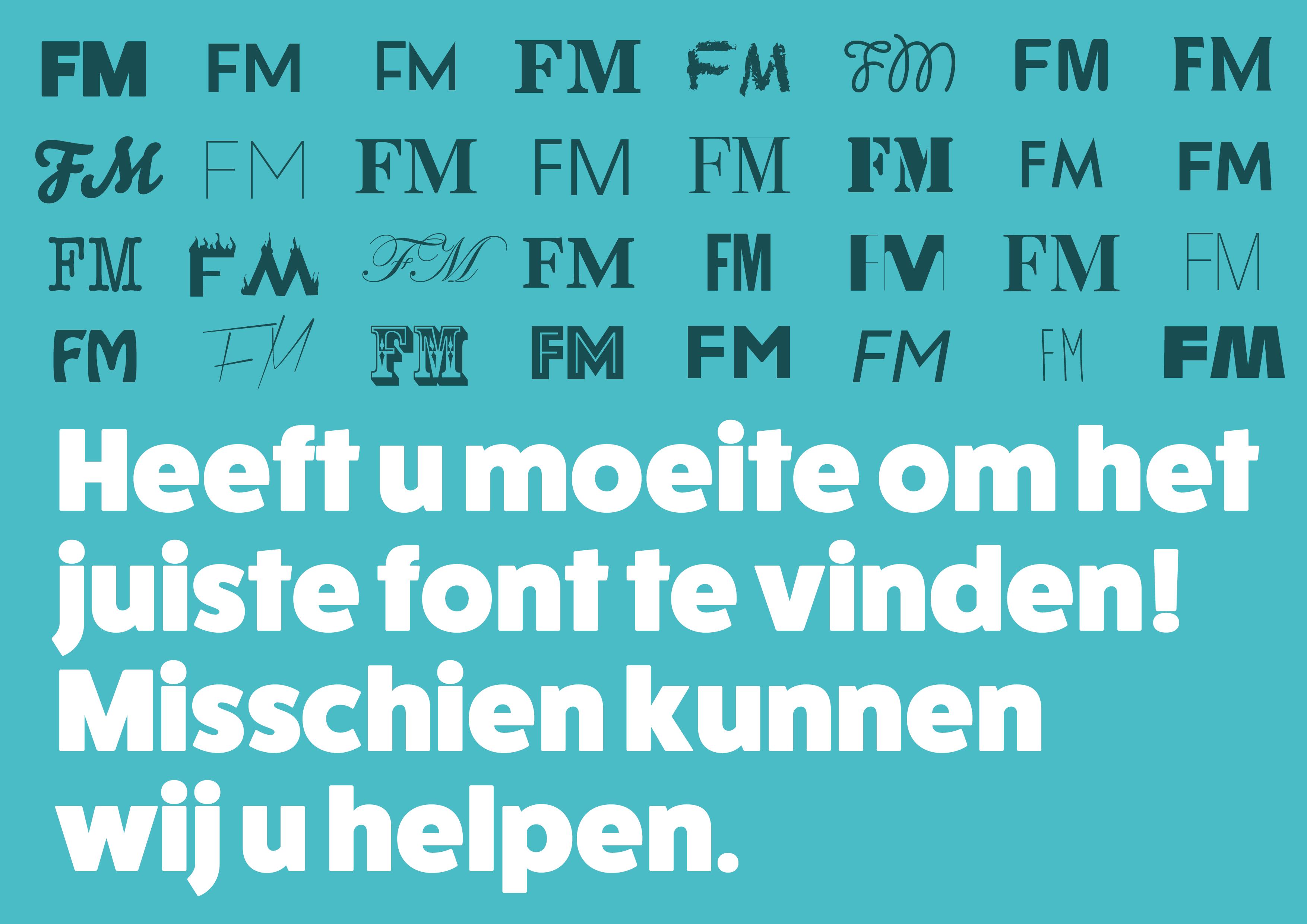 Hoe kiest u het juiste lettertype uit?
