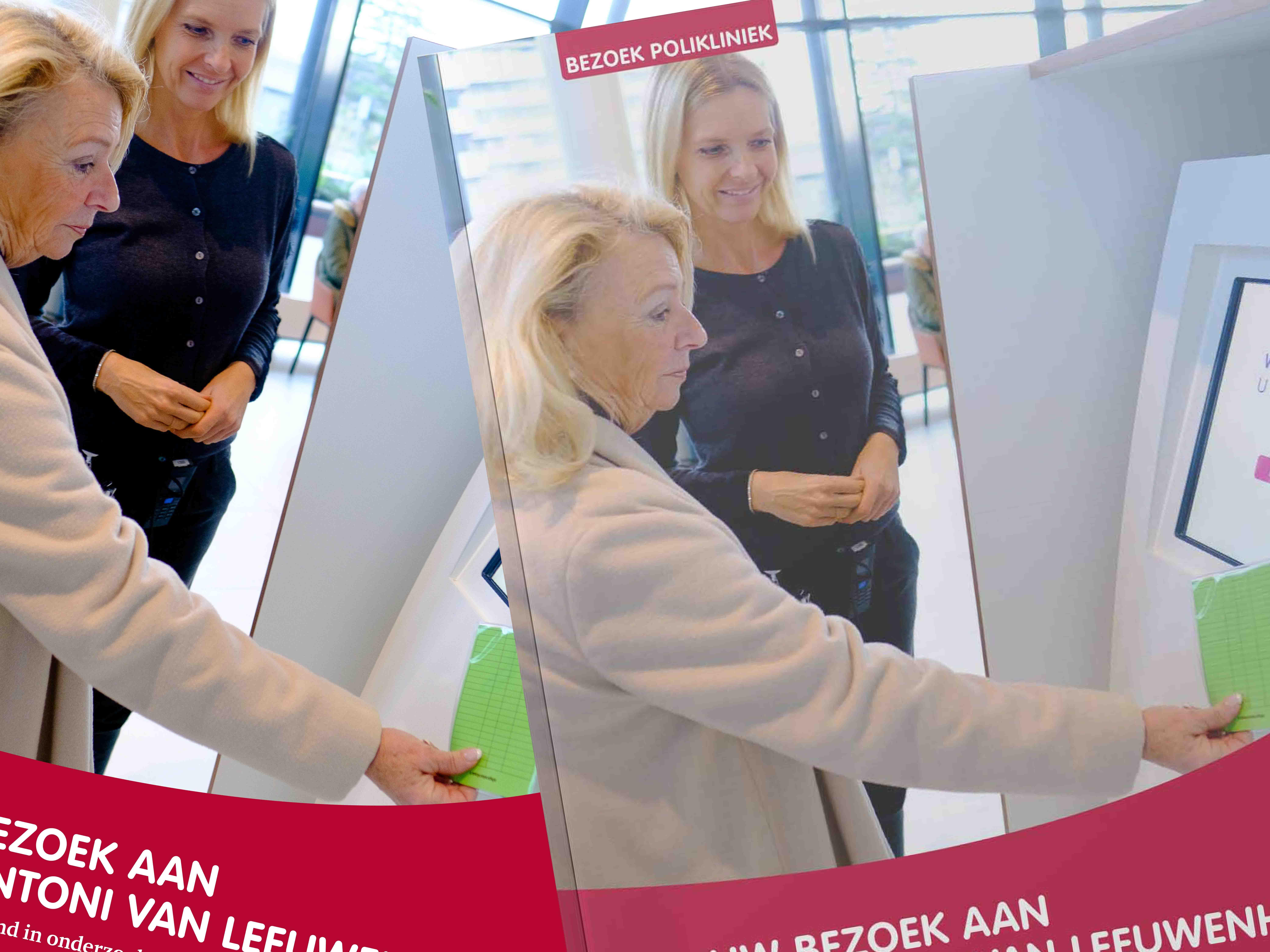 Antoni van Leeuwenhoek brochure bezoek aan het AVL