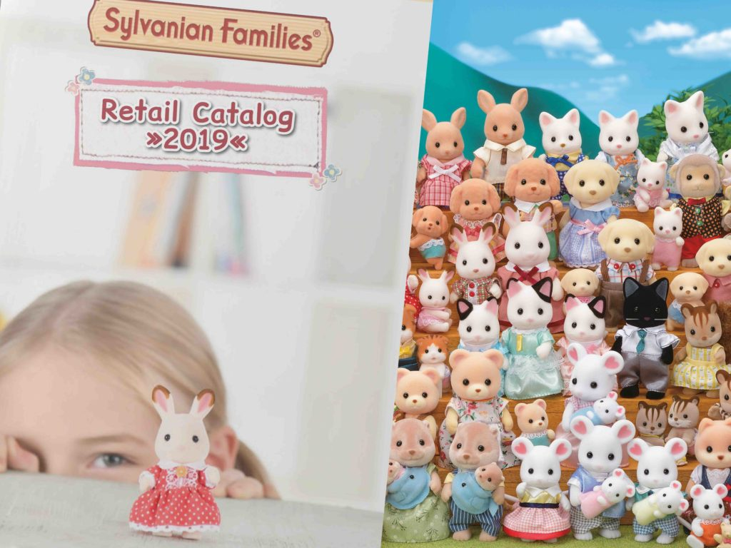 Sylvanian Families retail catalogue